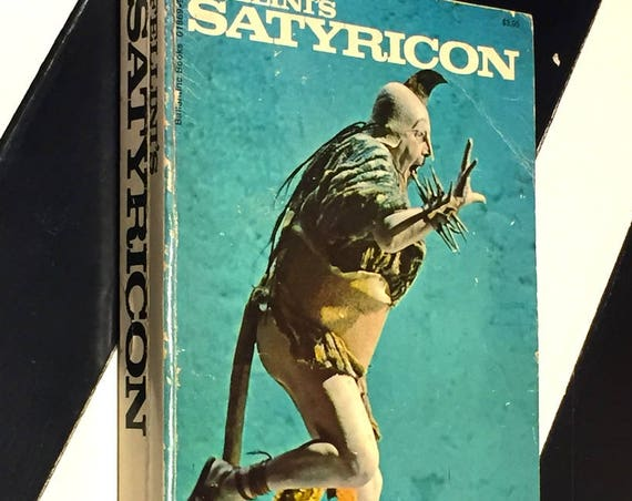 Fellini's Satyricon (1970) first edition book