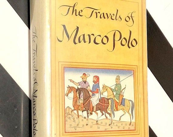 The Travels of Marco Polo (1926) Modern Library hardcover book
