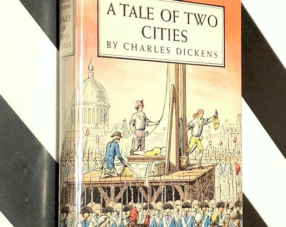 A Tale of Two Cities by Charles Dickens (1950) Modern Library hardcover book