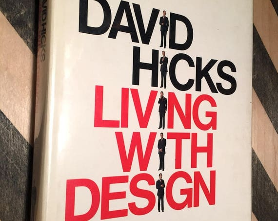 Living with Design by David Hicks (1979) first edition book