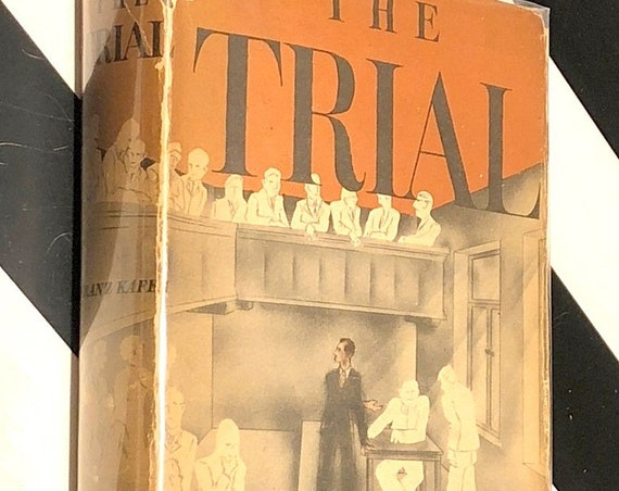 The Trial by Franz Kafka (1937) hardcover book