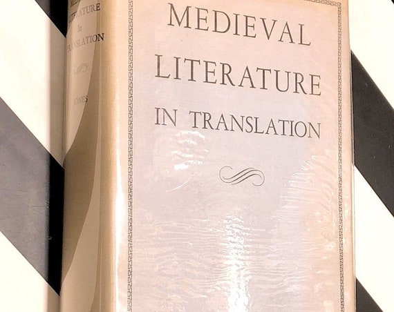 Medieval Literature in Translation by Charles W. Jones (1950) hardcover book
