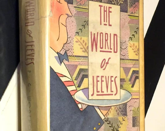 The World of Jeeves by P. G. Wodehouse (1967) hardcover book