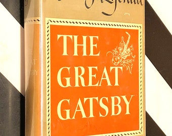 The Great Gatsby by F. Scott Fitzgerald (1925) hardcover book