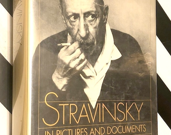 Stravinsky by Vera Stravinsky and Robert Craft (1978) first edition book