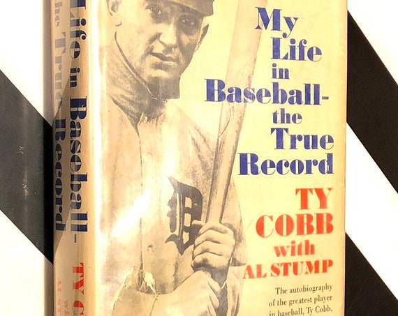 My Life in Baseball by Ty Cobb (1961) hardcover book