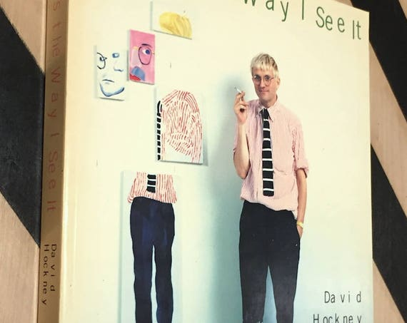 That's the Way I See it by David Hockney (1993) trade paperback book