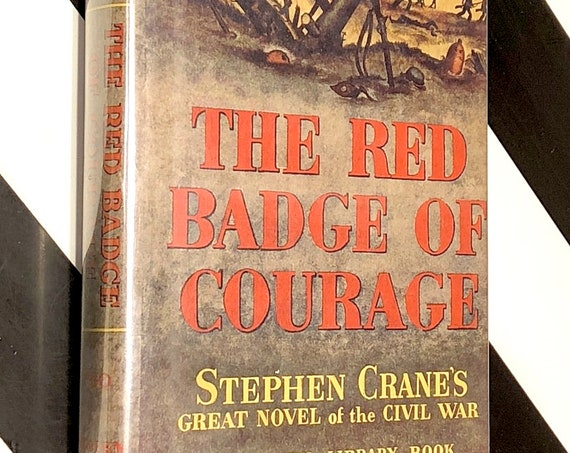 The Red Badge of Courage by Stephen Crane (1951) Modern Library hardcover book