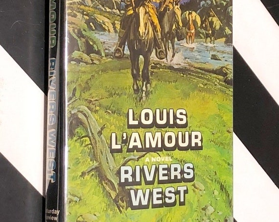 Rivers West by Louis L'Amour (1975) signed first edition book