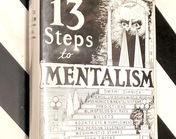 13 Steps to Mentalism by Tony Corinda (1996) hardcover book