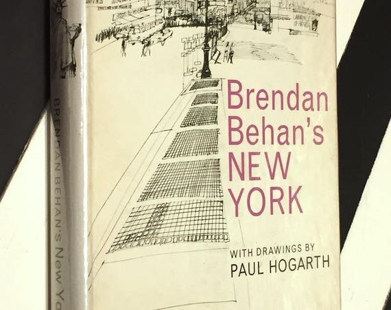 Brendan Beehan's New York (1964) first edition book