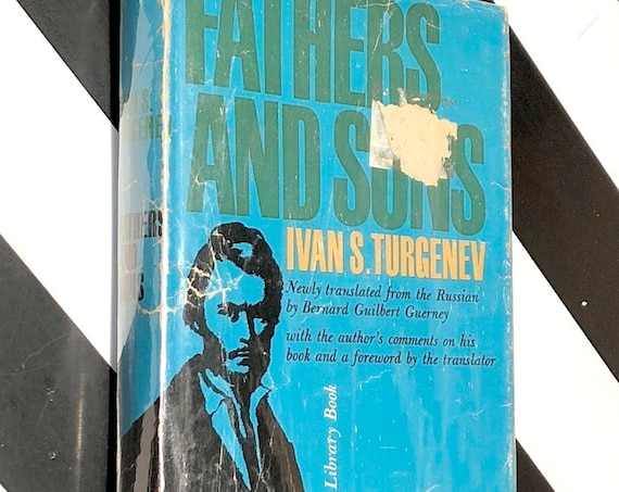 Fathers and Sons by Ivan Turgenev (1961) Modern Library hardcover book