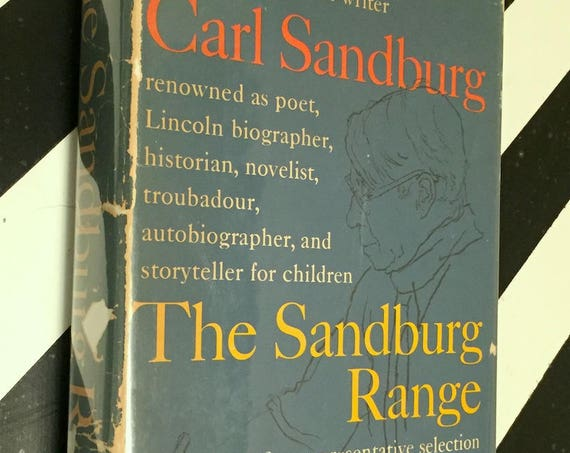 The Sandburg Range by Carl Sandburg (1957) first edition book