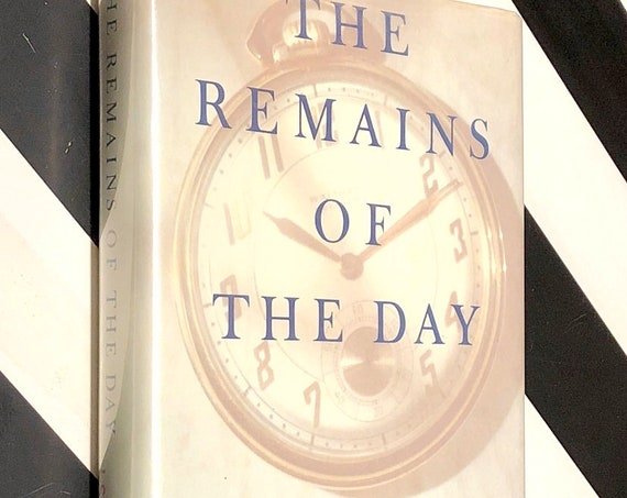 The Remains of the Day by Kazuo Ishiguro (1989) first edition book
