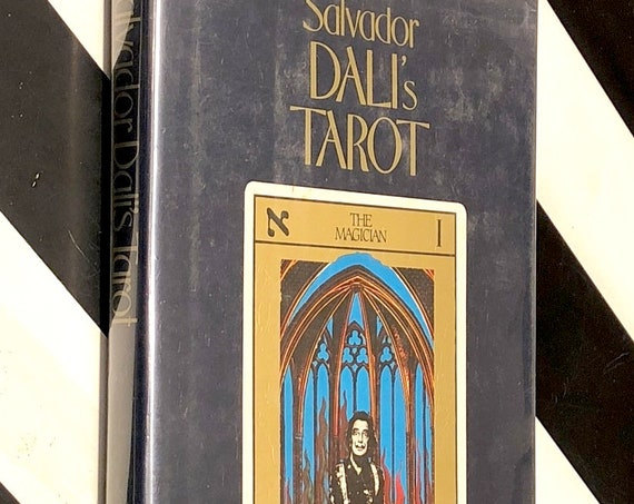 Salvador Dali's Tarot by Rachel Pollack (1985) first edition book