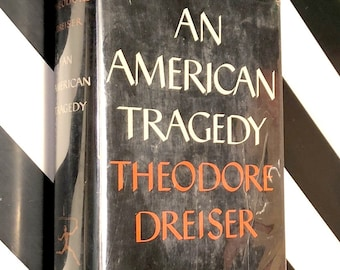 An American Tragedy by Theodore Dreiser (1956) hardcover Modern Library book