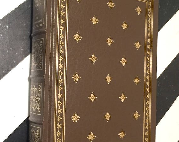 Selected Stories of Guy de Maupassant (1983) Leatherbound Franklin Press Edition book