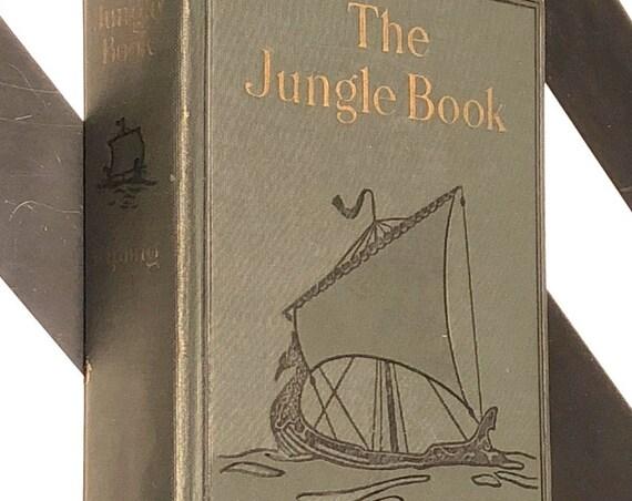 The Jungle Book by Rudyard Kipling (1923) hardcover book