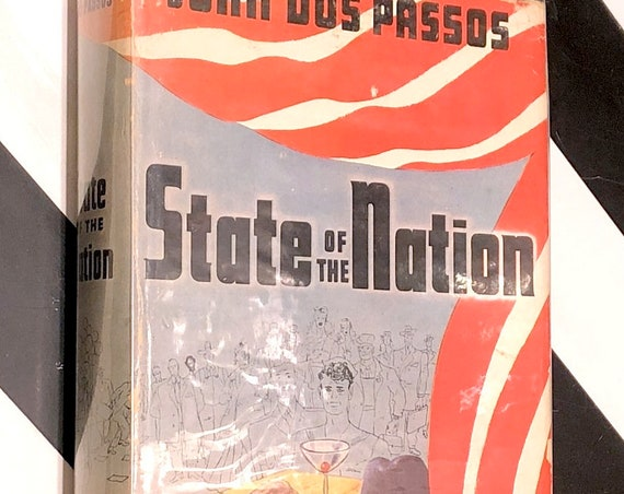 State of the Nation by John Dos Passos (1944) first edition book