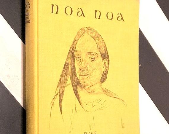 Noa Noa by Paul Gauguin (1925) hardcover book in German