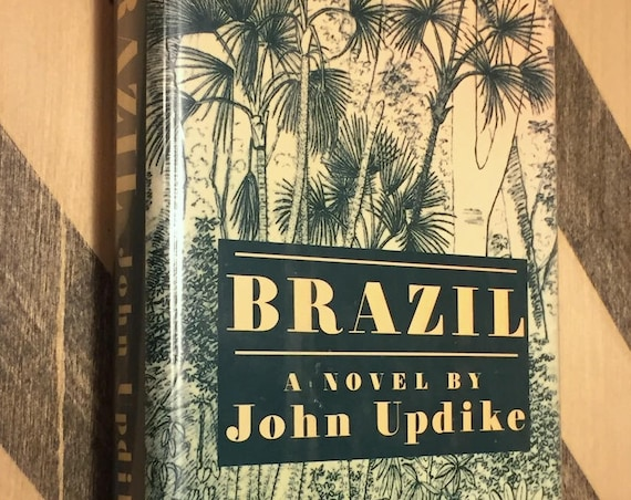 Brazil by John Updike (1994) hardcover book
