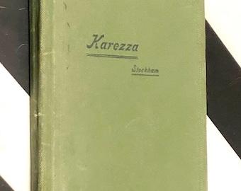 Karezza by Alice Stockham (1896) first edition book