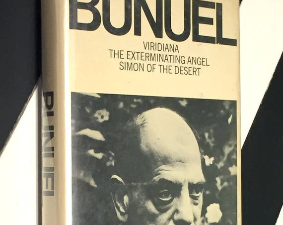 Viridiana, The Exterminating Angel, and Simon of the Desert by Bunuel (1969) first edition book