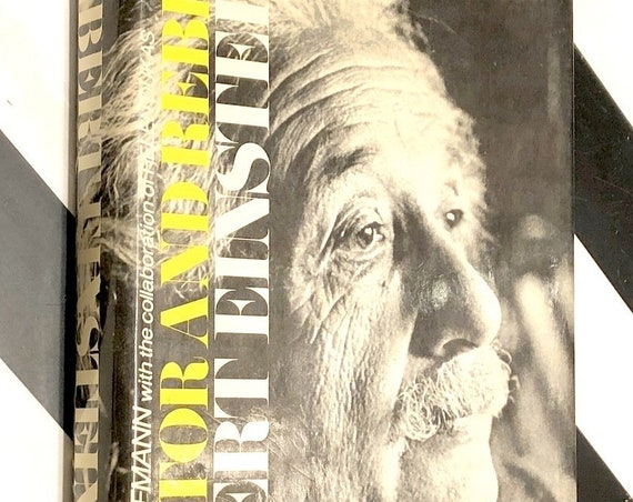 Albert Einstein: Creator and Rebel by Banesh Hoffman (1972) first edition book