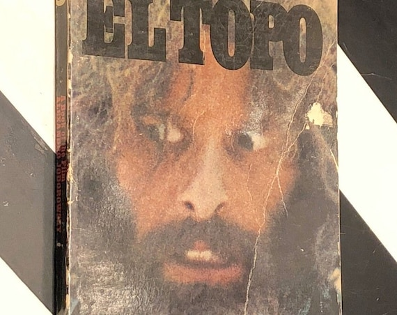 EL TOPO by Alexandro Jodorowsky, a Book of the Film (1971) paperback book
