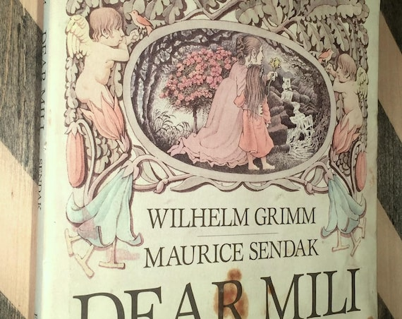 Wilhelm Grimm's Dear Mili Illustrated by Maurice Sendak (1988) first edition book