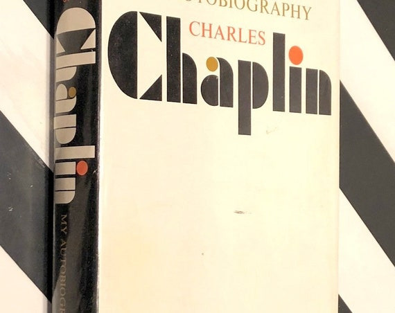 My Autobiography by Charlie Chaplin (1964) hardcover book