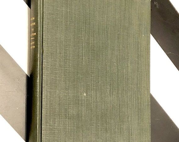 From Plotzk to Boston by Mary Antin (1899) first edition book