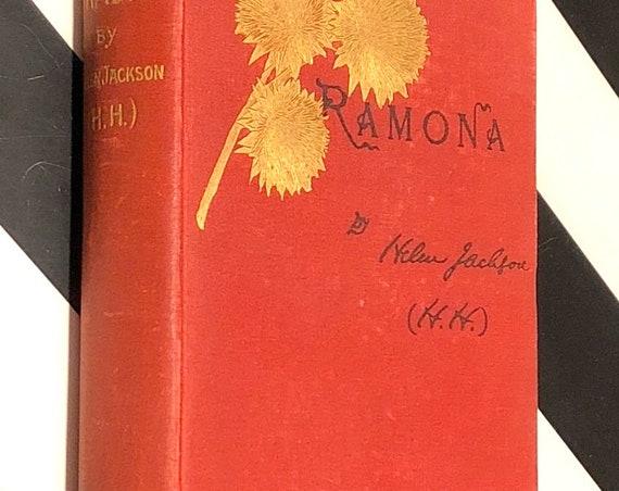 Ramona by Helen Jackson (1903) hardcover book