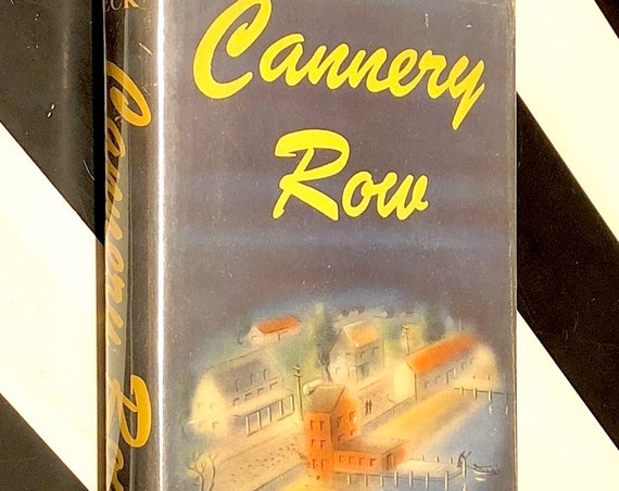 Cannery Row by John Steinbeck (1945) first edition book