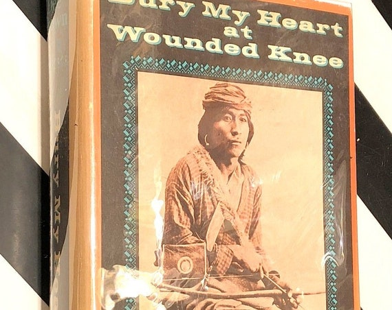 Bury my Heart at Wounded Knee by Dee Brown (1970) hardcover book