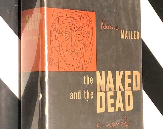 The Naked and the Dead by Norman Mailer (1948) hardcover book