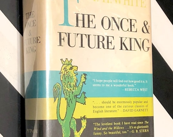 The Once and Future King by T. H. White (1958) hardcover book