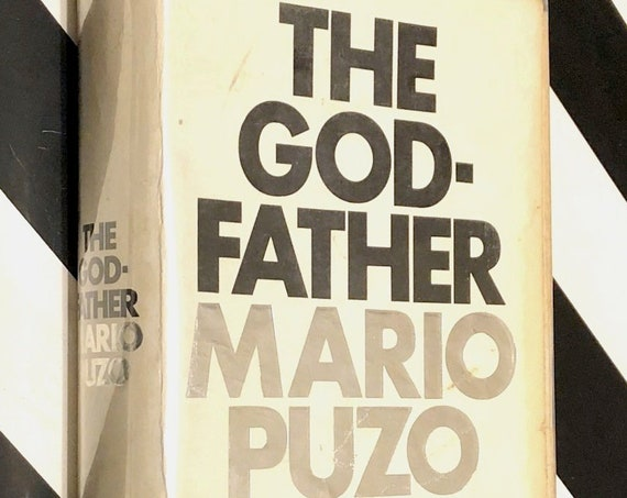 The Godfather by Mario Puzo (1969) first edition book