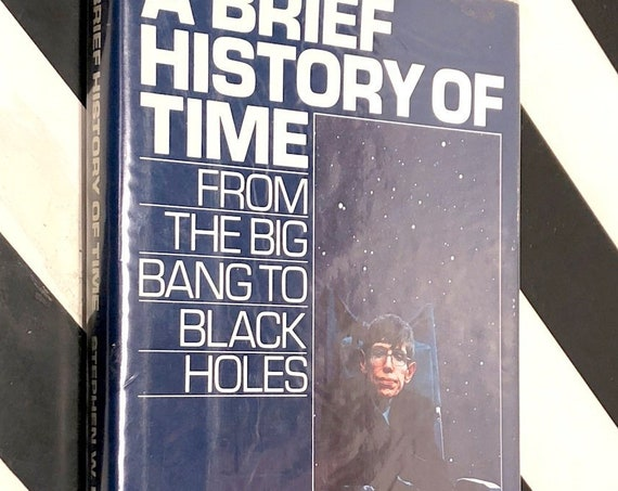 A Brief History of Time by Stephen Hawking (1988) hardcover book