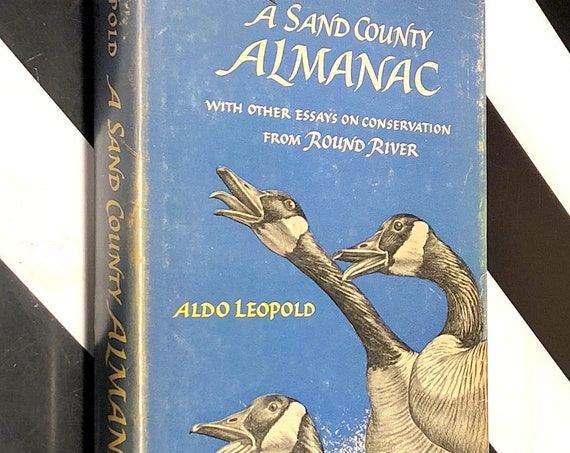 A Sand County Almanac by Aldo Leopold (1966) hardcover book