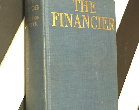 The Financier by Theodore Dreiser (1927) hardcover book