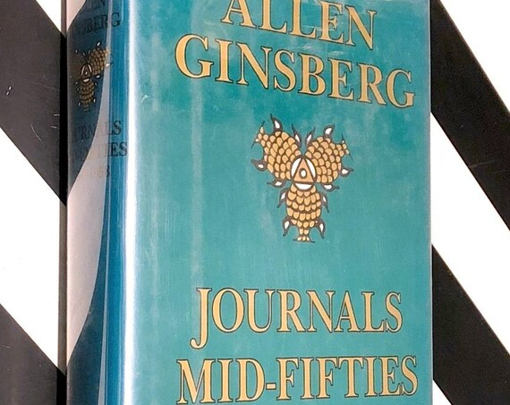 Journals Mid-Fifties 1954-1958 by Allen Ginsberg (1995) first edition book