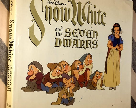Walt Disney's Snow White and the Seven Dwarfs (1979) hardcover book