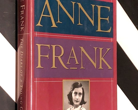 Diary of a Young Girl by Anne Frank (1995) hardcover book