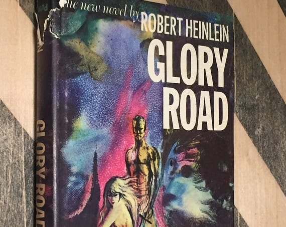 Glory Road by Robert Heinlein (hardcover book)