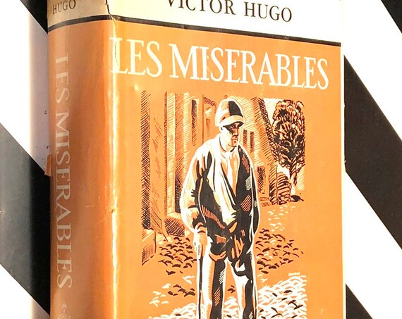 Les Miserables by Victor Hugo (1950) modern library book