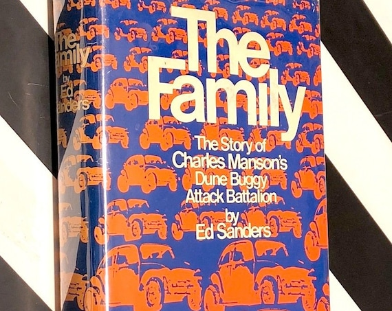 The Family by Ed Sanders (1971) hardcover book