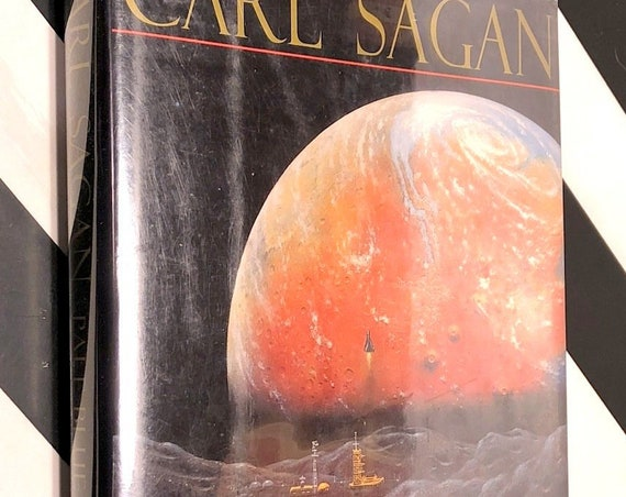 Pale Blue Dot by Carl Sagan (1994) first edition book