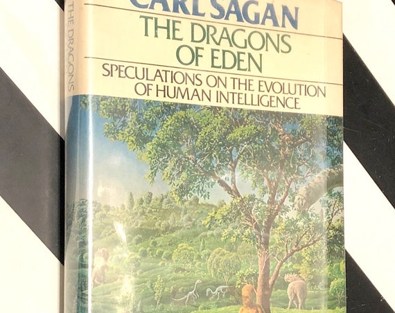 The Dragons  of Eden by Carl Sagan (1977) hardcover book