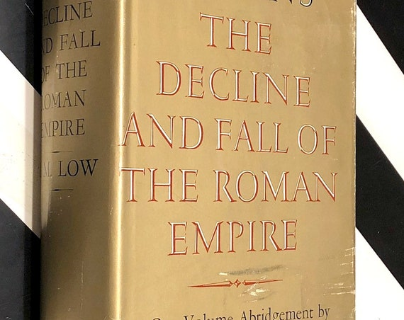Gibbon's The Decline and Fall of the Roman Empire (1960) hardcover book